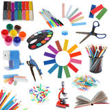 Set of school accessories Royalty Free Stock Photo