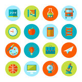Set of school and education icons. Stock Photography