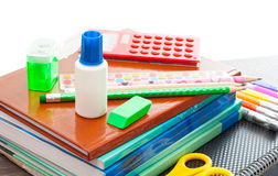 Set for school Stock Image