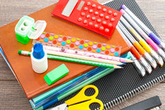 Set for school Stock Images