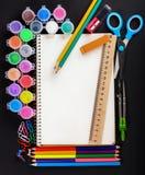 Set of school stationery Royalty Free Stock Image
