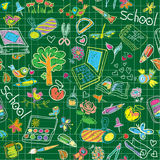 A set of school subjects for training and recreati Royalty Free Stock Photos