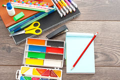 Set for  schools Stock Photography