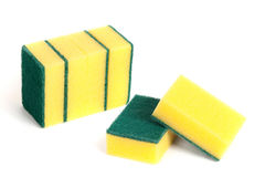 A set of scouring sponges Stock Image