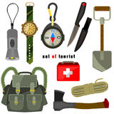 Set scout. set  tourist Stock Photography