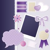 Set of scrapbooking elements Royalty Free Stock Photo