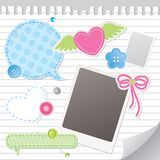 Set of scrapbooking elements Stock Photo