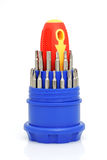 Set of screw-drivers Royalty Free Stock Photography
