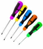Set of screwdrivers Stock Photography