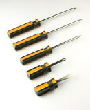 Set of screwdrivers Stock Photography