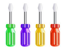 Set of screwdrivers Royalty Free Stock Photo