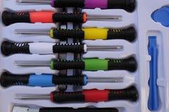 Set of screwdrivers Stock Photo