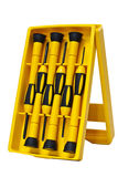 A set of screwdrivers, universal. Royalty Free Stock Photography