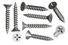 Set screws Royalty Free Stock Image