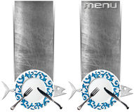 Set of Seafood Banners Royalty Free Stock Photos