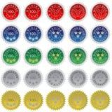 Set of Seals Royalty Free Stock Image