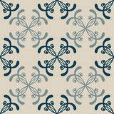 Set of Seamless with abstract colorful floral Royalty Free Stock Photos