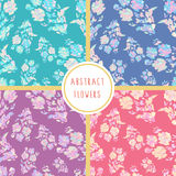 Set of seamless abstract patterns Stock Photography