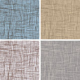 Set of seamless backgrounds Stock Photo