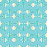 Set of 16 seamless  backgrounds with decorative geometric shapes Stock Photography