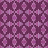 Set of 16 seamless  backgrounds with decorative geometric shapes Royalty Free Stock Images
