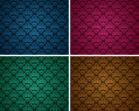 Set of seamless patterns 10 Royalty Free Stock Photography