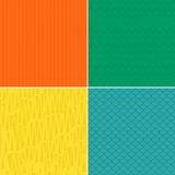 Set of seamless backgrounds in vector Royalty Free Stock Photography