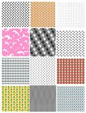 Set of seamless backgrounds. Vector Royalty Free Stock Photo