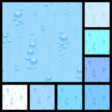 Set seamless from  bubble Royalty Free Stock Photos