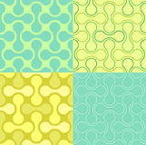 Seamless  Puzzle Wallpaper Pattern Royalty Free Stock Photo