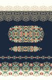 Set of seamless decorative border patterns Stock Image