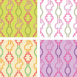 Set of seamless Easter  paper Stock Photography