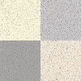 Set Seamless Flecked Stone Texture Royalty Free Stock Image