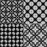 Set seamless geometric pattern Royalty Free Stock Photography