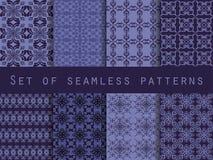 Set seamless. Geometric patterns. Template for wallpaper, tile, Stock Photos
