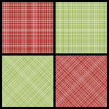 Set of seamless hatch patterns Royalty Free Stock Photos