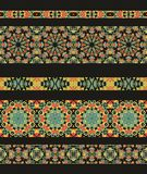 Set of seamless laced border patterns Royalty Free Stock Photo