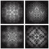 Set of  seamless pattern Royalty Free Stock Images