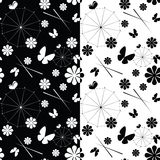 Set of seamless pattern Royalty Free Stock Image