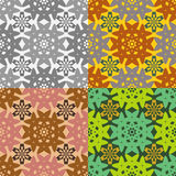 Set of seamless pattern Royalty Free Stock Photos