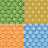 Set of  seamless pattern for background - eps Stock Photos