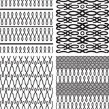 Set of seamless pattern Royalty Free Stock Photo