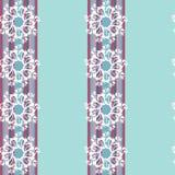Set of seamless pattern elements with mandala Stock Photos