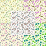 Set of seamless pattern Royalty Free Stock Photo