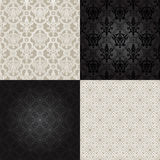 Set of  Seamless Pattern  In Islamic style. Royalty Free Stock Photos