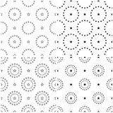 4 set seamless pattern of Stars. Stars background Royalty Free Stock Photography