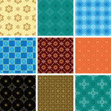 Set of seamless pattern - vector Stock Images