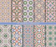 Set of seamless pattern vector illustration