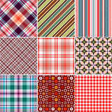 Set Seamless Patterns Royalty Free Stock Images