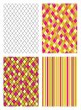 Set seamless patterns Royalty Free Stock Photo
